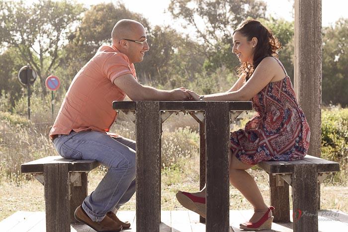 Pedro y Sandra